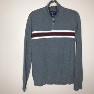 Aeropostale men's 1/4 zip pullover sweater M